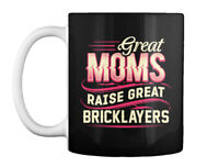 Proud Bricklayers Mom Gift Coffee Mug