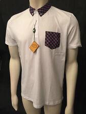 Gabicci Slim Check Button Down Casual Shirts & Tops for Men