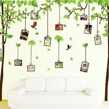Tree Bird Photo Picture Frame Wall Sticker Kids Nursery Home Art Decor Mural New