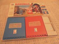 HANGMAN WORD GAME Vintage 1977 Edition MB GAMES hang man family kids board game