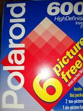 Polaroid 600 High Definition Film 26 Photos NEW expired 01/98