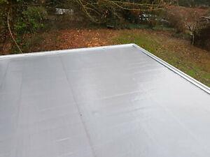 Agande (9.99€/m²) Selbstklebend Dachfolie Dachbahn 5m² Dachabdichtung Bitumen