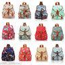 A4 Canvas Print Backpack Ladies Girls Bag Rucksack Travel Gym School College