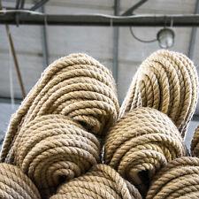 JUTESEIL Seil Seile Natur Jutefaser imprägniert sehr Dehnungsarm gedreht 6-60mm