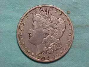 1894-O Morgan Dollar nice original