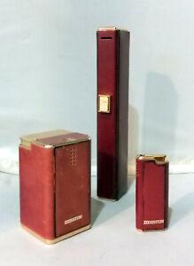 Mid-Century Modern HESSTON Lighter Set W.Germany Ibelo