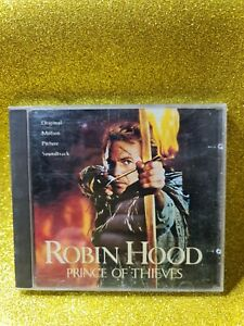 Robin Hood Prince of Thieves🎵 Soundtrack - MUSIC CD🎵 FREE POST