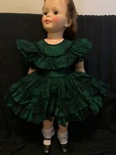 "Vintage Dress For Ideal Patti Playpal Fits 35� Doll ""No Doll"" Pageant Dress- 2t"