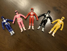 MMPR - 1992 Original Power Rangers Action Figures set. RARE