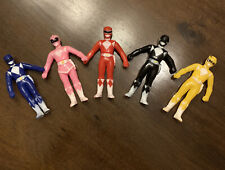 MMPR - 1992 Original Power Rangers Action Figures set. RARE