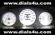 HONDA CIVIC EK MODELS (96-2000) - TYPE R / VTEC- 180kmh or 220kmh WHITE DIAL KIT