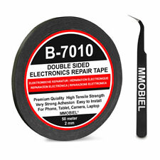 MMOBIEL 2mm Doppelseitiges Klebeband Tape 50 Meter für Reparaturen Handy Tablet
