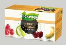 Pickwick Fruit Variations black tea - raspberry, apple, cherry, melon