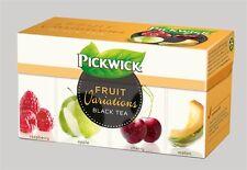 Pickwick Fruit Variations black tea - raspberry, apple, cherry, melon