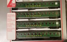 Lima 149729K Scharnow set of 4 Couchette wagons Green Era 4 Full Length