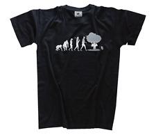 PLATA Edition catástrofe atómica energía nuclear bomba Evolution Camiseta S-xxxl