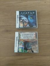 AVATAR THE GAME + Mystery Stories - NINTENDO DS, DS LITE, DSi Free P&P
