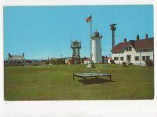 Lighthouse & Coast Guard Station Chatham Cape Cod USA Old Postcard 369a ^