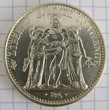 10 FRANCS HERCULES 25g SILVER COIN / PIECE ARGENT 900/1000 1965 1967 1968 1970