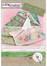 Anita Goodesign Tissue Holder Embroidery Machine Design CD NEW PROJ46