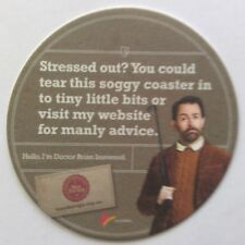New listing Man Therapy Hello I'm Doctor Brian Ironwood Beyond Blue Coaster (B272-45)