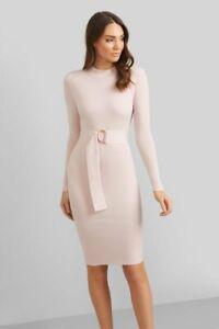 Kookai Alyce Long Sleeve Knit Dress One Size