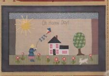 Oh, Happy Day - pieced & applique wall quilt PATTERN - Timeless Traditions