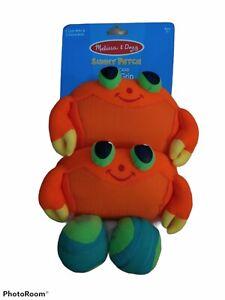 Melissa & Doug Clicker Crab Toss & Grip Summer Beach Toy