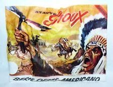 MONTAPLEX Sobre Oeste Western ATAQUE SIOUX soldaditos indios cowboys 70's airfix
