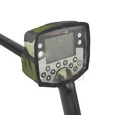 Camo #2 Rain Dust Cover Metal Detector Minelab E-trac Safari Explorer Quattro MP