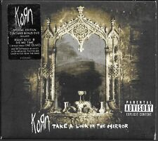 CD ALBUM DIGIPACK 13 TITRES + 1 DVD--KORN--TAKE A LOOK IN THE MIRROR--2003