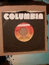 Johnny Mathis 45 RPM Vinyl, Love Won't Let Me Wait/Lead Me To Your Love. 1984