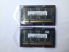 2GB RAM PC2700 333MHz SODIMM DDR 200pin DDR1 SAMSUNG M470L2923DV0 CB3 LAPTOP