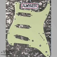 "Pickguard Stratocaster Mint Green '62 Hole Pattern 3 ply .090"" strat PG0554-024"