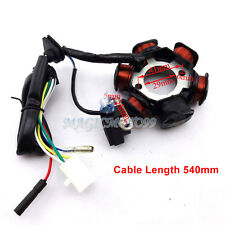 6 Poles Coil Ignition Stator Magneto For Chinese GY6 50cc Moped Scooter