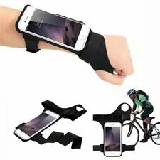Riding Jogging Lycra Thumb Armband Case for iPhone XS Max / Samsung Galaxy S9+
