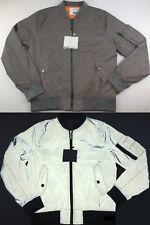 NEW Big Sam SAFETY REFLECTIVE Lightweight Bomber Jacket Coat NIGHT VISIBILITY
