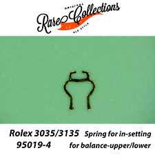 NEW Rolex 3035 95019-4 Spring In-Setting for balance-upper/lower 3135 Jewel