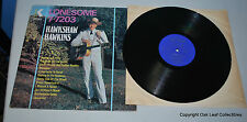 Hawkshaw Hawkins Lonesome 7-7203 LP King KSD-1043 US Press Honky Tonk