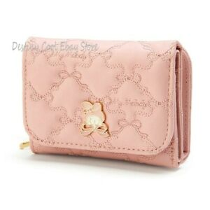 Foldable Purse Wallet My Melody Cinnamoroll Purin Lolita Anime Gift Zippers Cute