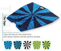 STICKY BUMPS SURFBOARD TRACTION PAD The Capo, *NEW* Blue and Black