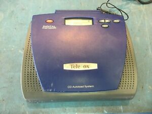 TELEVOX On-Hold Music Player/Digital Announcer, CD Autoload System, Flash Memory
