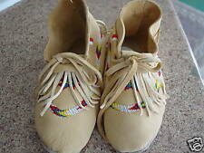 CUSTOM ORDER WOMEN'S ELK BEADED MOCCASINS MUKLUKS 5-12