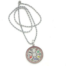 * Chinese New Year  Feng Shui * Om Mani with Star of David Pendant & Necklace