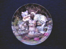 BRADFORD EXCHANGE Kitten Expeditions, KITTY PLATE #1