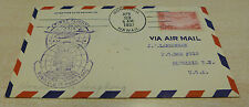 Honolulu Hawaii USA  to Hong Kong China  1937 Trans pacific cover first flight