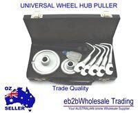 13P SET UNIVERSAL HEAVY DUTY CAR WHEEL HUB PULLER REAR BRAKE DRUM PULLER REMOVER