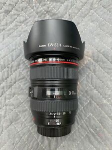 CANON 24-105mm F4 IS LENS WITH FILTERS