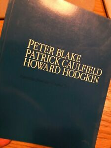 Peter Blake Patrick Caulfield Howard Hodgkin art exhibition catalogue Waddington