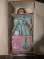 Paradise Galleries Porcelain Doll Shannon the Shamrock Fairy Premier Edition
